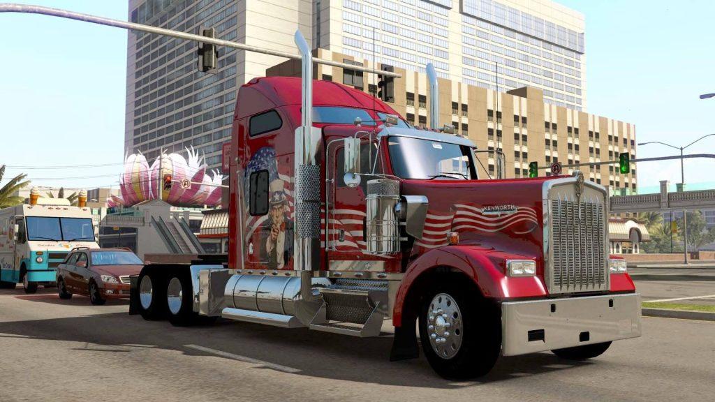 خرید بازی American Truck Simulator